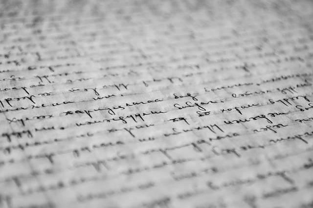 cursive manuscript